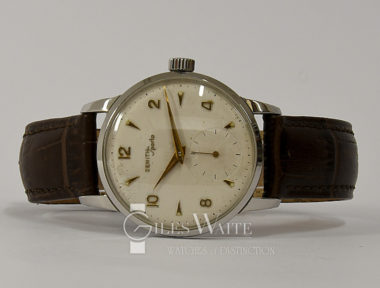 £395 (REF 9088) ZENITH SPOTO (1950'S)