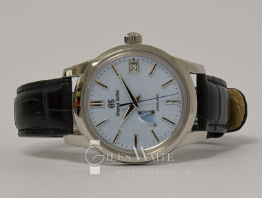 £4,695 (REF 6444) GRAND SEIKO SKY FLAKE REF SBGA407G (2020) NEW