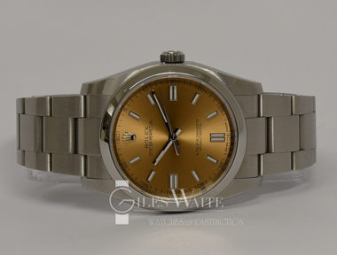 £3,795 (REF 9107) OYSTER PERPETUAL REF 116000 (2015)