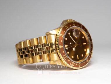 £23,995 (REF 9074) ROLEX GMT MASTER II REF 16718 (1990)