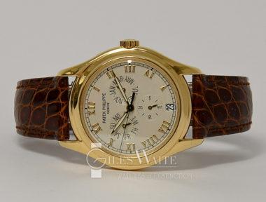 £16,995 (REF 6457) PATEK PHILIPPE ANNUAL CALENDAR REF 5035J (1997)