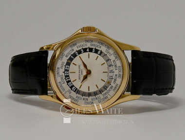 £21,995 (REF 6459) PATEK PHILIPPE WORLD TIME REF 5110J-001 (2008)