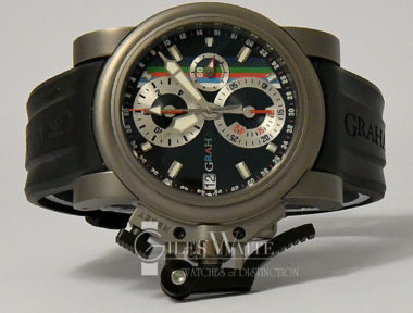 £3,995 (REF 9141) GRAHAM CHRONOFIGHTER OVERSIZE DATE REF 1735 (2010)
