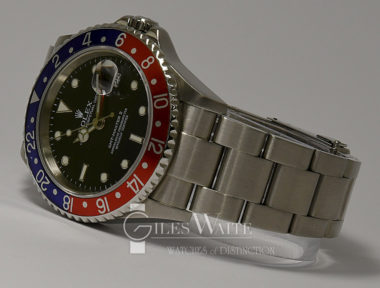 "£SOLD (REF 9166) GMT MASTER II ""PEPSI"" REF 16710BLR (2008)"