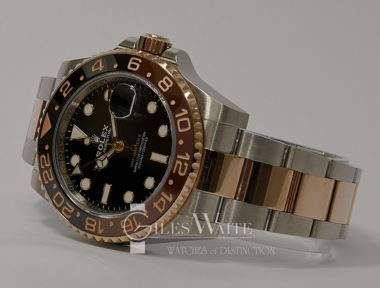 "£SOLD (REF 9167) GMT MASTER II ""ROOT BEER"" REF 126711 CHNR (2019)"
