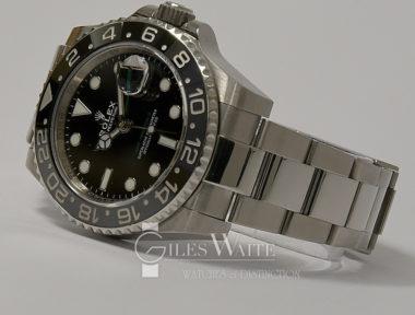 £8,895 (REF 6468) GMT MASTER II REF 116710LN (2017)