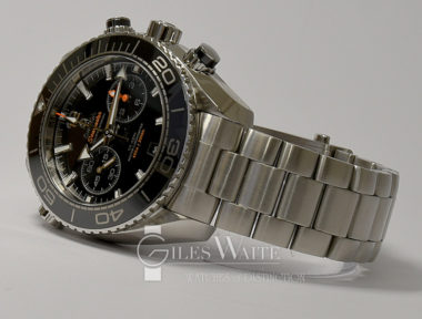£SOLD (REF 6453) OMEGA SEAMASTER PLANET OCEAN CHRONOGRAPH REF 215.30.46.51.01.001 (2016)