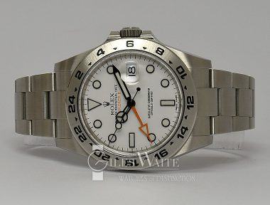 £7,995 (REF 9204) EXPLORER II REF 216570 (2020) NEW WITHOUT STICKERS