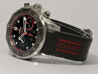 £3,295 (REF 9220) OMEGA SEAMASTER CHRONO AMERICAS CUP REF 212.32.44.50.01.001 (2013)