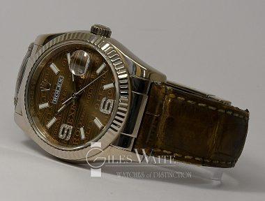 £9,695 (REF 9238) DATEJUST REF 116139 (2009)