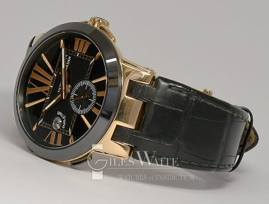 £7,995 (REF 6500) ULYSSE NARDIN EXECUTIVE DUAL TIME REF 246-00142 (2014)