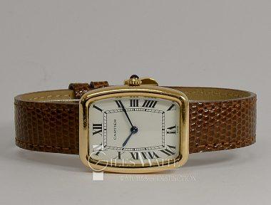 £3,495 (REF 6494) LOUIS DE CARTIER GONDOLE (1970'S)