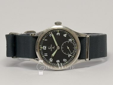 £1,995 (REF 9293) OMEGA MILITARY REF DIRTY DOZEN WW2 (1944)