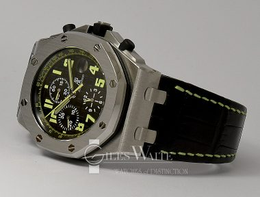 £15,995 (REF 9307) AUDEMARS PIGUET ROYAL OAK OFFSHORE CHRONO WORTH AVENUE REF 26086ST.00.D002CR.01 (2006)