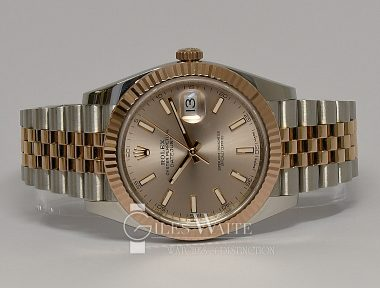 £SOLD (REF 9316) DATEJUST 41 REF 126331 (2018)