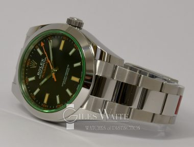 £SOLD (REF 9321) MILGAUSS REF 116400GV (2020) NEW UN-WORN