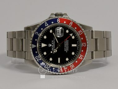 £SOLD (REF 9336) GMT MASTER II REF 16710 (1993)