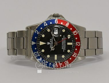 £SOLD (REF 9333) GMT MASTER REF 1675 PCG (1959)