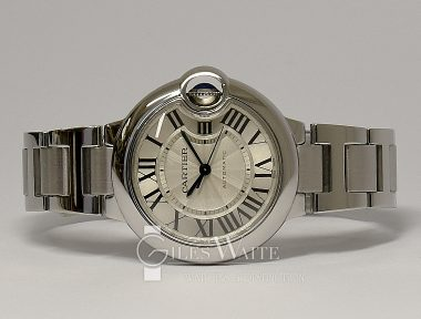 £SOLD (REF 9291) CARTIER BALLON BLEU REF W6920071 (2013)