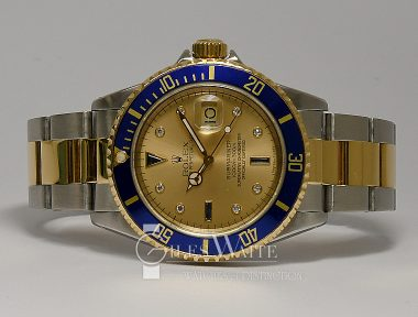 £SOLD (REF 9329) SUBMARINER REF 16613 (SERTI) (1990)