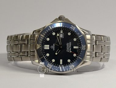 "£SOLD (REF 9184) SEAMASTER DIVER 300 REF 25418000 ""JAMES BOND GOLDEN EYE"" (2005)"