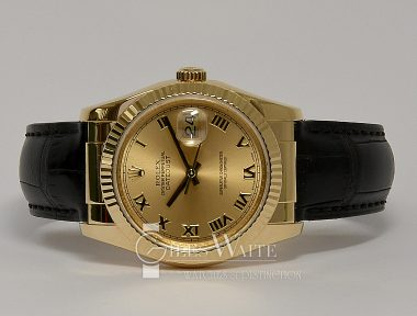 £SOLD (REF 9356) DATEJUST REF 116138 (2006)