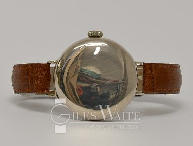 £2,995 (REF 6499) ROLEX OFFICERS HUNTER WRISTWATCH (1918)