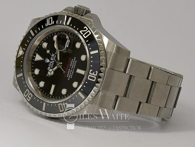 £11,695 (REF 6519) SEA DWELLER 50TH ANNIVERSARY REF 126600 NEW UN-WORN