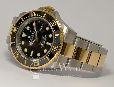 £14,995 (REF 9382) SEA DWELLER REF 126600 (2020) NEW UN-WORN