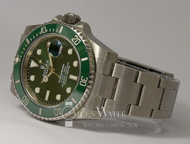 "£SOLD (REF 9375) SUBMARINER ""HULK"" REF 116610LV (2018 NOVEMBER)"