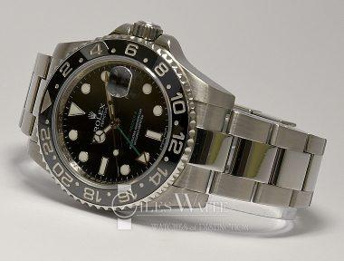 £8,195 (REF 9383) GMT MASTER II REF 116710LN (2009)